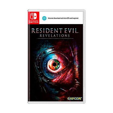 Jogo Resident Evil: Revelations - Switch