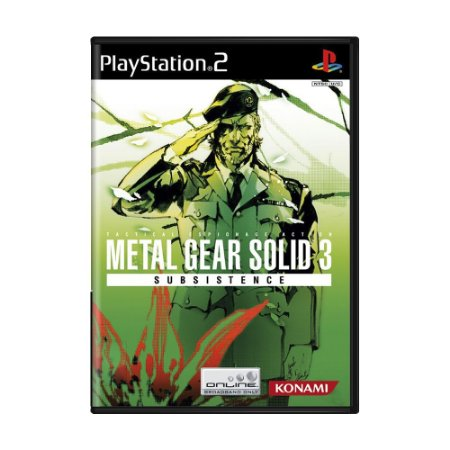 Jogo Metal Gear Solid 3: Subsistence - PS2