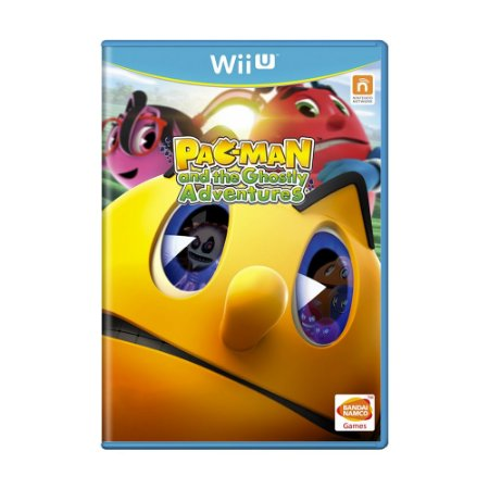 Jogo Pac-Man and the Ghostly Adventures - Wii U