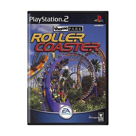 Jogo Theme Park Roller Coaster - PS2