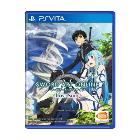 Jogo Sword Art Online: Lost Song - PS Vita