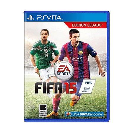 Jogo FIFA 15 - PS Vita
