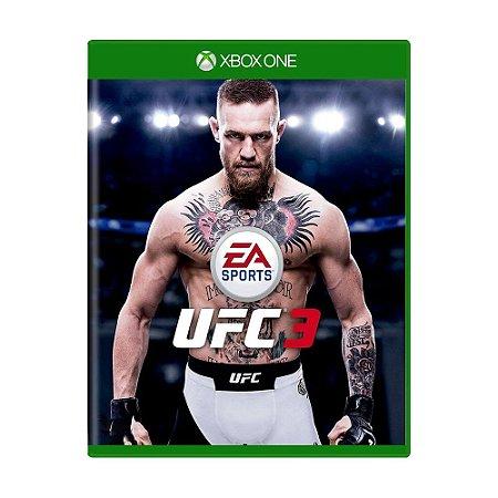 Jogo EA Sports UFC 3 - Xbox One