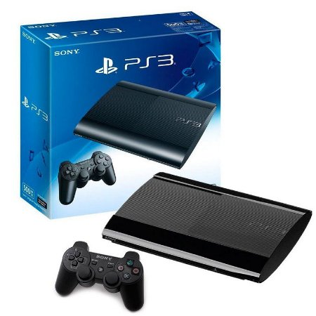 Console PlayStation 3 Super Slim 500GB - Sony