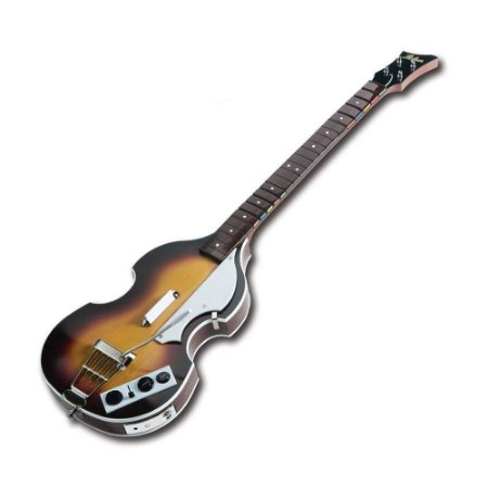 Hofner Bass Paul McCartney The Beatles Rock Band Sem Fio - Wii