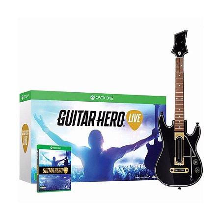 Jogo Guitar Hero: Live (Guitar Bundle) - Xbox One