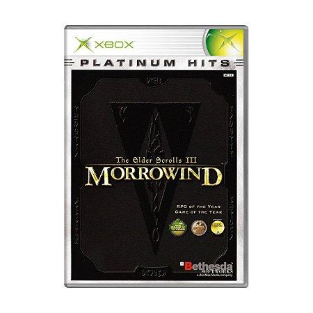 Jogo The Elder Scrolls III: Morrowind - Xbox