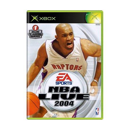 Jogo NBA Live 2004 - Xbox