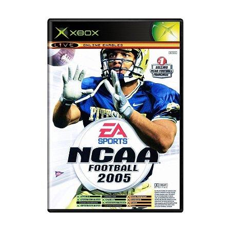 Jogo NCAA Football 2005 / Top Spin - Xbox
