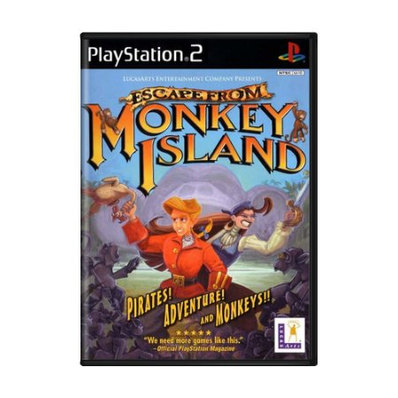 Jogo Escape from Monkey Island - PS2