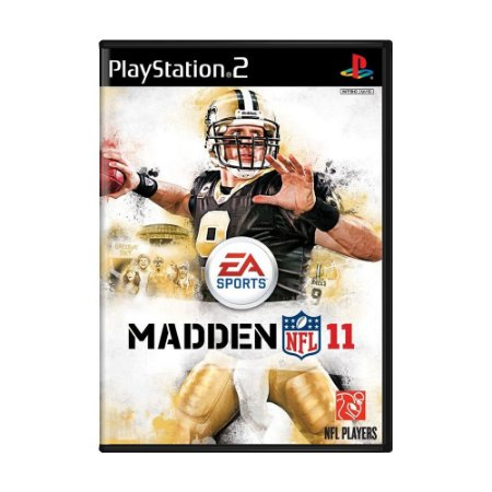 Jogo Madden NFL 11 - PS2