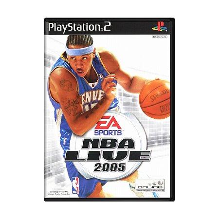 Jogo NBA Live 2005 - PS2