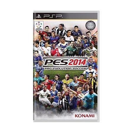 Jogo Pro Evolution Soccer 2014 (PES 14) - PSP