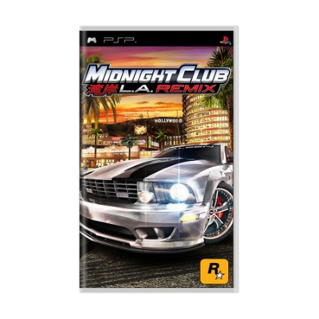 Jogo Midnight Club: LA Remix - PSP