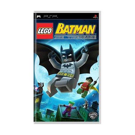 Jogo LEGO Batman: The Video Game - PSP