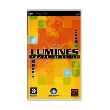 Jogo Lumines: Puzzle Fusion - PSP