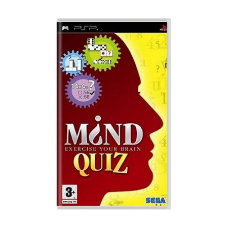 Jogo Mind Quiz - PSP