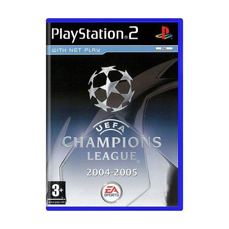 Jogo UEFA Champions League 2004-2005 - PS2 (Europeu)