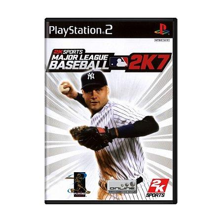 Jogo Major League Baseball 2K7 - PS2