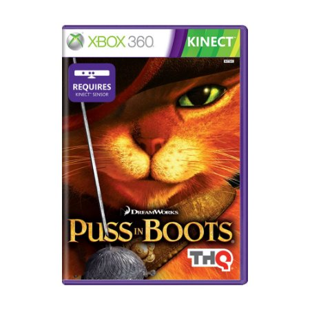 Jogo Puss in Boots - Xbox 360