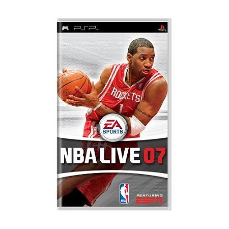 Jogo NBA Live 07 - PSP