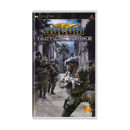 Jogo SOCOM: U.S. Navy SEALs Tactical Strike - PSP