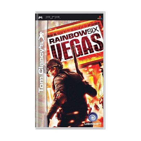 Jogo Tom Clancy's Rainbow Six: Vegas - PSP