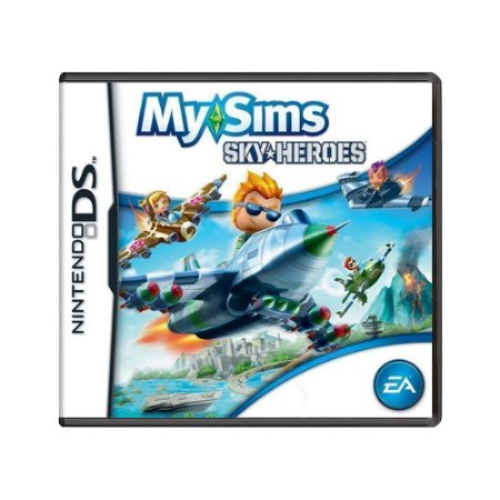 Jogo MySims SkyHeroes - DS