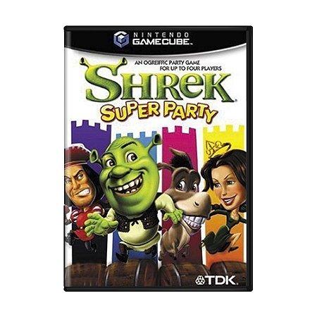 Jogo Shrek Super Party - GameCube