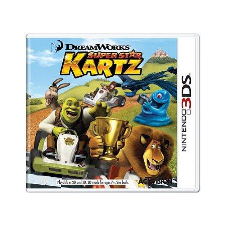 Jogo DreamWorks Super Star Kartz - 3DS