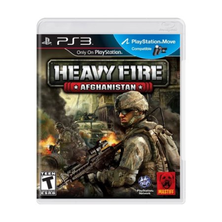 Jogo Heavy Fire: Afghanistan - PS3