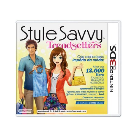 Jogo Style Savvy: Trendsetters - 3DS