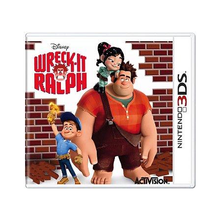 Jogo Wreck-It Ralph  - 3DS