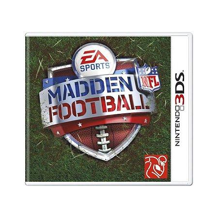 Jogo Madden NFL Football - 3DS