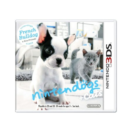 Jogo Nintendogs + Cats: French Bulldog & New Friends - 3DS