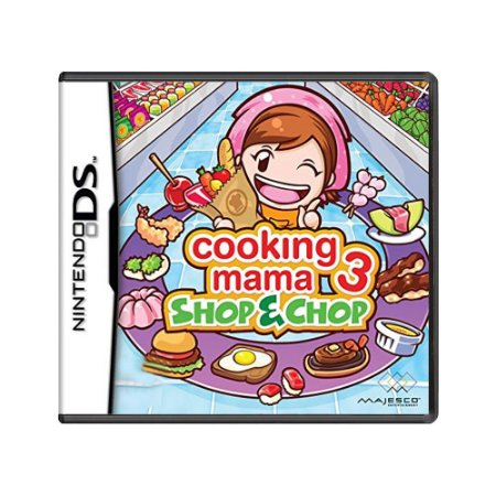 Jogo Cooking Mama 3: Shop & Chop - DS
