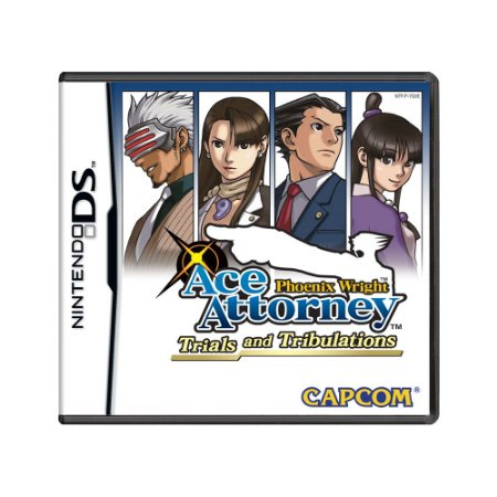Jogo Phoenix Wright: Ace Attorney Trials and Tribulations - DS