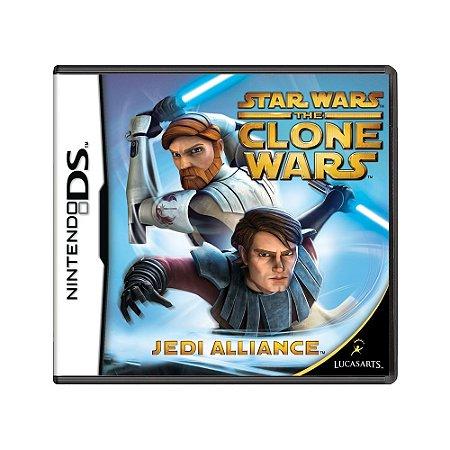 Jogo Star Wars The Clone Wars: Jedi Alliance - DS