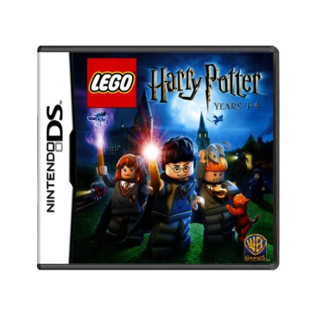 Jogo LEGO Harry Potter: Years 1-4 - DS