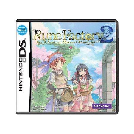 Jogo Rune Factory 2: A Fantasy Harvest Moon - DS