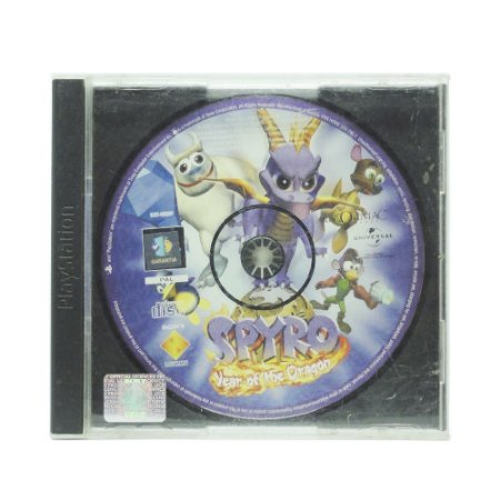 Jogo Spyro: Year of the Dragon - PS1 [Europeu]