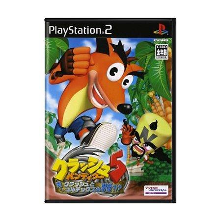Jogo Crash Bandicoot 5: Twinsanity - PS2 [Japonês]