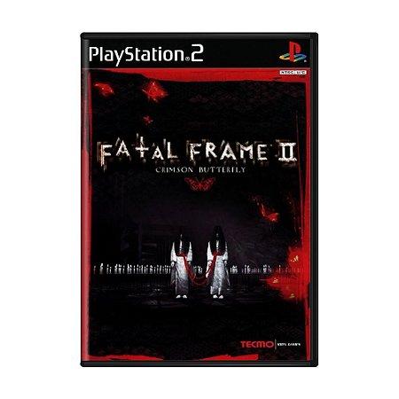 Jogo Fatal Frame II: Crimson Butterfly - PS2