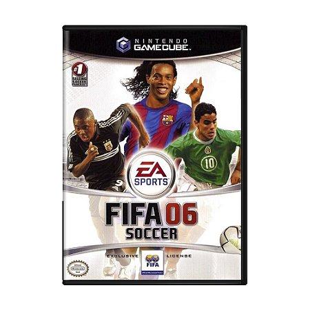 Jogo FIFA Soccer 06 - GameCube