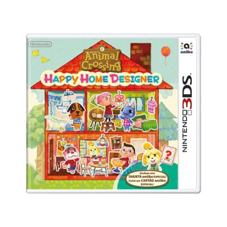 Jogo Animal Crossing: Happy Home Designer - 3DS