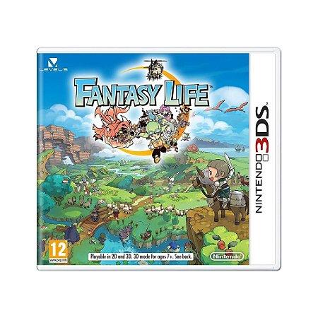Jogo Fantasy Life - 3DS [Europeu]