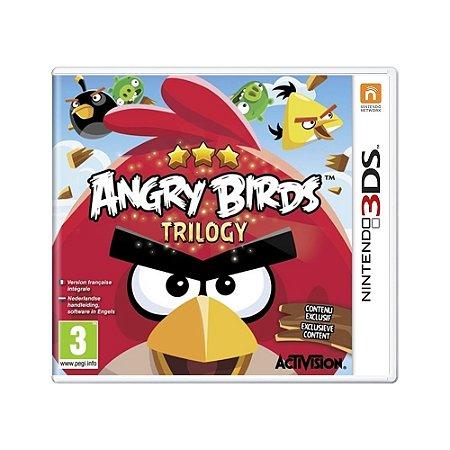 Jogo Angry Birds Trilogy - 3DS [Europeu]