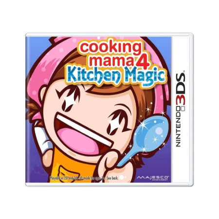 Jogo Cooking Mama 4: Kitchen Magic - 3DS