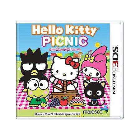 Jogo Hello Kitty Picnic - 3DS