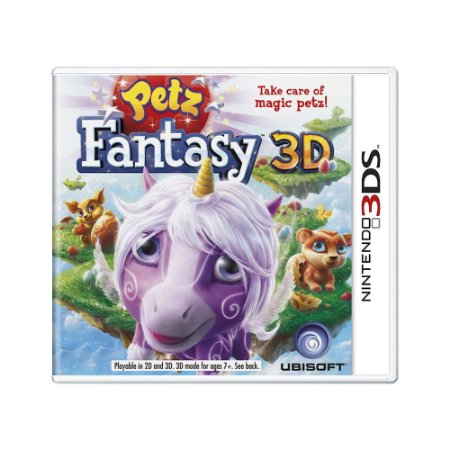 Jogo Petz Fantasy 3D - 3DS